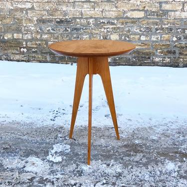 Made In Minnesota Tripod Accent Table
