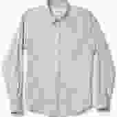 CORRIDOR NYC DOVE DOUBLE CLOTH SHIRT