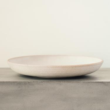Natasha Alphonse Large Plate, Sand