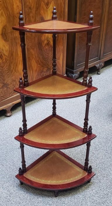 Item #S2049 Vintage Bric a Brac Corner Shelves