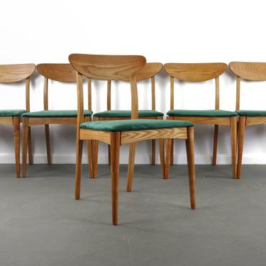 Topaz Dining Chairs for Heywood Wakefield, A Set of 6 by ABTModern