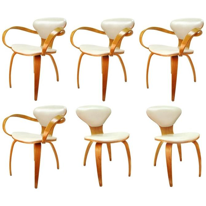 Norman Cherner for Plycraft Mid-Century Modern Dining Room Chairs