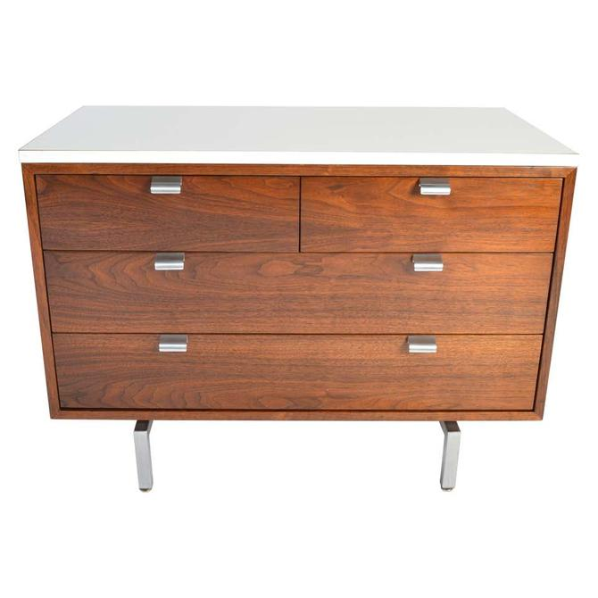 George Nelson for Herman Miller 4-Drawer Cabinet\/Credenza in Walnut