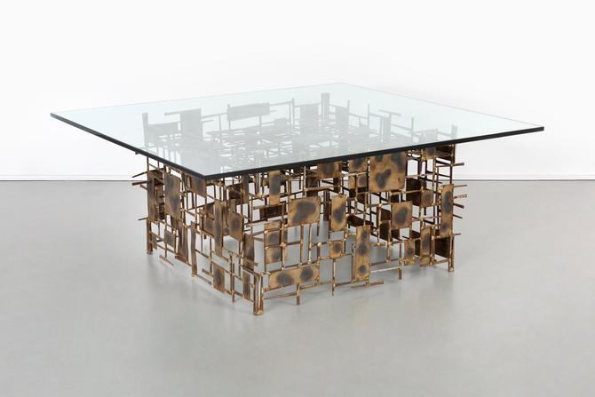 Brutalist Coffee Table by Marc Creates by MatthewRachman