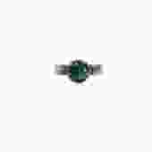 SMALL MALACHITE RING by EmmaMarty