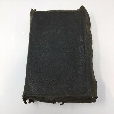 1902 German Bible w Leather case DIE BIBEL HEILIGE SCHRIFT Martin Luthers