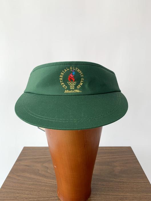 1996 Green Olympic Visor