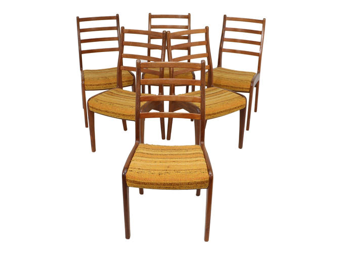Set Of 6 Teak Dining Chairs By G Plan by RetroPassion21