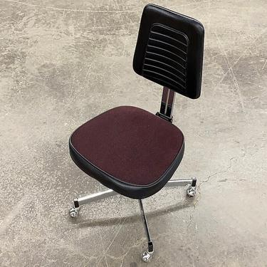 LOCAL PICKUP ONLY ———— Vintage Nightingale Industries Office Chair by RetrospectVintage215