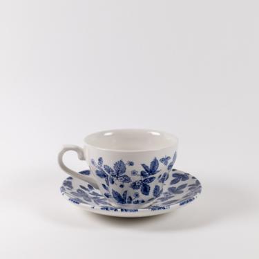 Surrey Teacup + Saucer Set 12pc | Blue