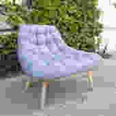 Deep Ice Grey Lounge Chair