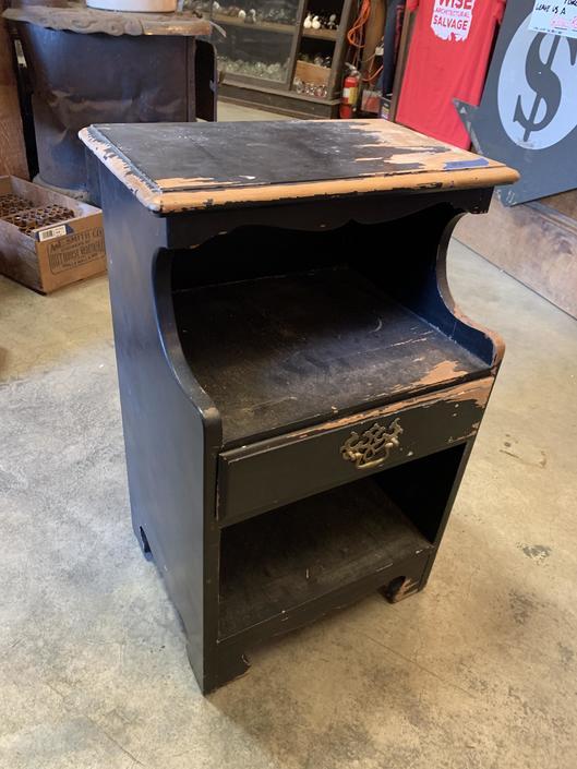Wood bedside table 28 x 18 x 14