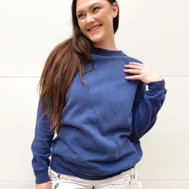 Navy Blank Sweatshirt