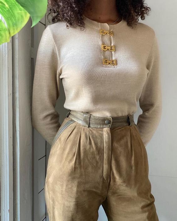90s Ferragamo Sweater