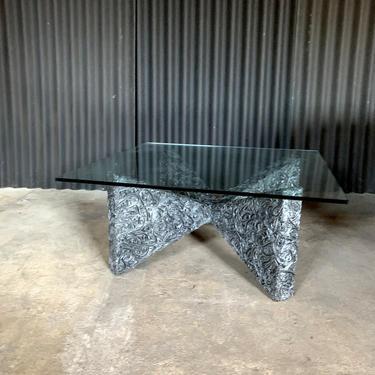 Adrian Pearsall for Craft Associates Brutalist Coffee Table by HermansSteelGarage