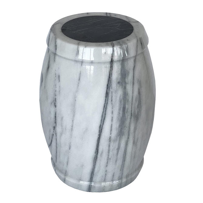 Marble Side Table / Stool