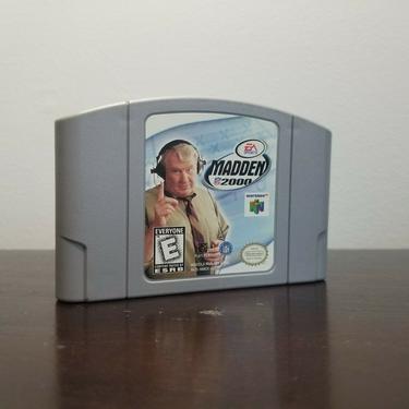 Madden NFL 2000 (Nintendo 64, 1999) TESTED Working by BellsAndWhistlesEtc