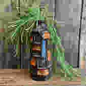 Retro reproduction mcm colorblock cylinder vase, brown blue orange modern vase, retro home decor by PeoplewillStare