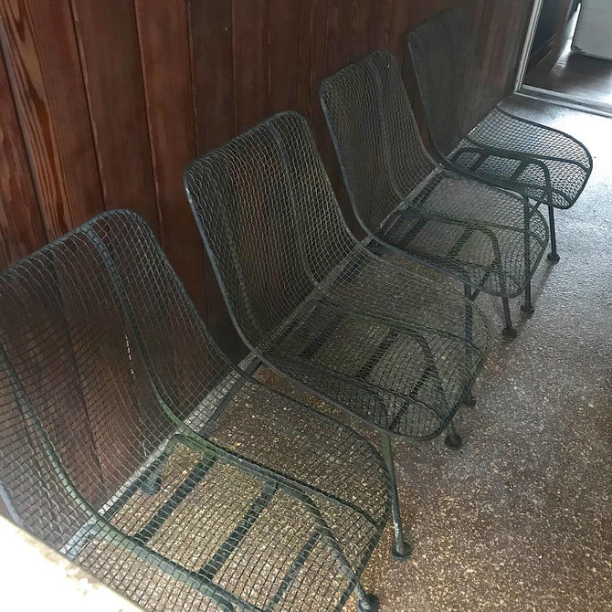 sale set of 4 vintage mid century russell woodard sculptura chair