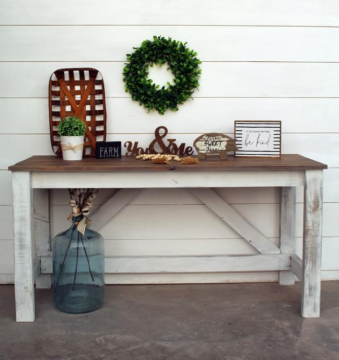 5ft Farmhouse Style Desk