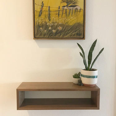 Floating Entryway Shelf by CascadiawoodworksUSA