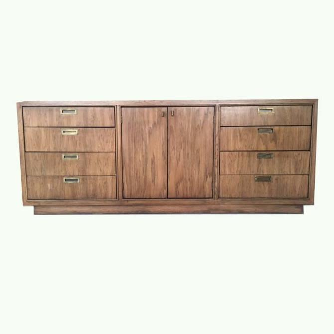 #437: Campaign Style 12 Drawer Dresser