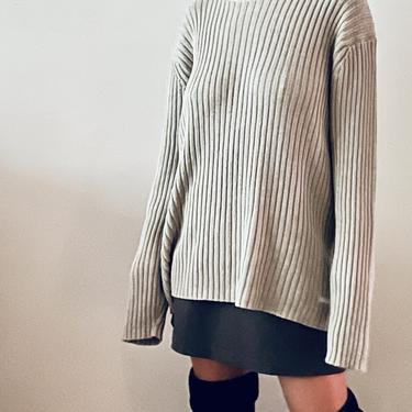 Ribbed Cotton Knit