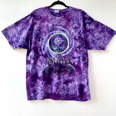 Vintage Grateful Dead Purple Tie Dye Tee