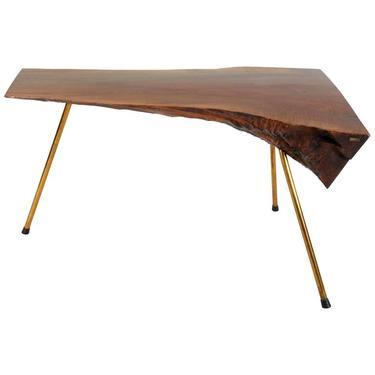 Walnut Table by Carl Auböck