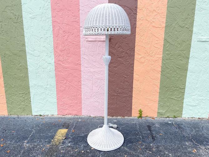 Fab Wicker Floor Lamp