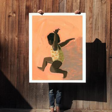 Momentum . extra large wall art . giclee print by ClareElsaesser