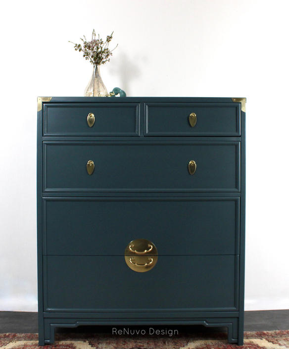 Vintage Tall Dresser  SOLD - NOT AVAILABLE by ReNuvoDesign