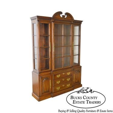 Harden Solid Cherry Traditional China Cabinet by BucksEstateTraders