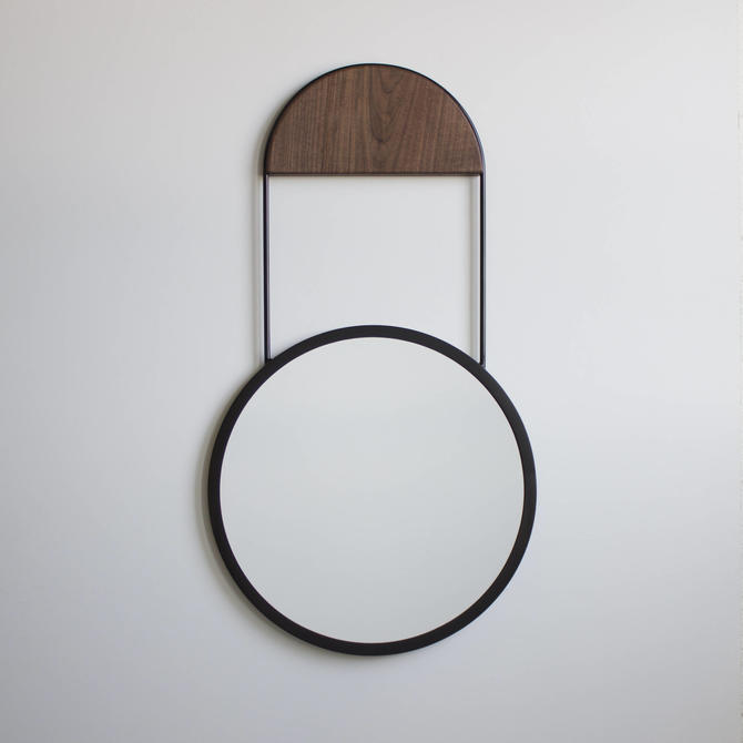 Penny Round Wall Hanging Mirror by CrumpandKwash
