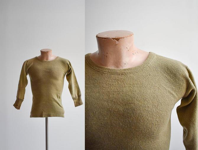 US Army WWII Era Thermal Shirt by milkandice