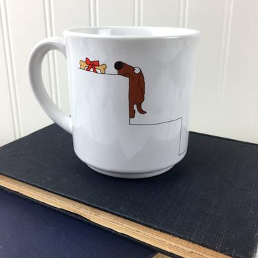 Sandra Boynton You Made It Congratulations mug - vintage 1980s mug by NextStageVintage