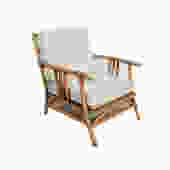 Ficks Reed Arm Chair Bamboo and Rattan Mid Century by HearthsideHome