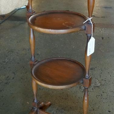 2 Tier Wooden Accent Table