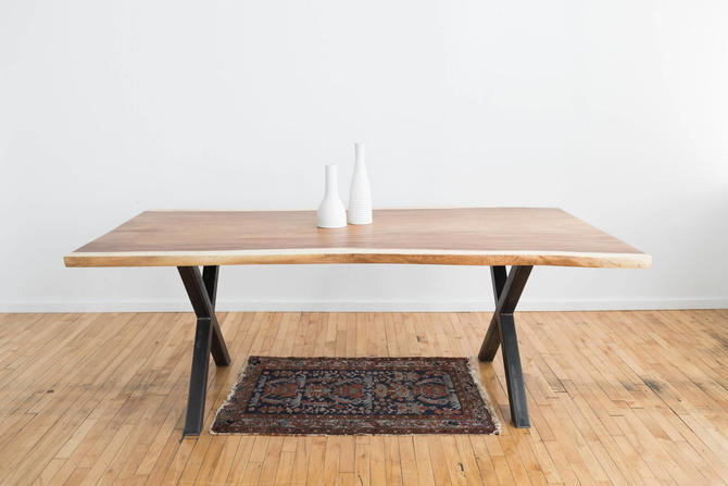 Live Edge Dining Table - Guanacaste / Parota Conference Table by StocktonHeritage