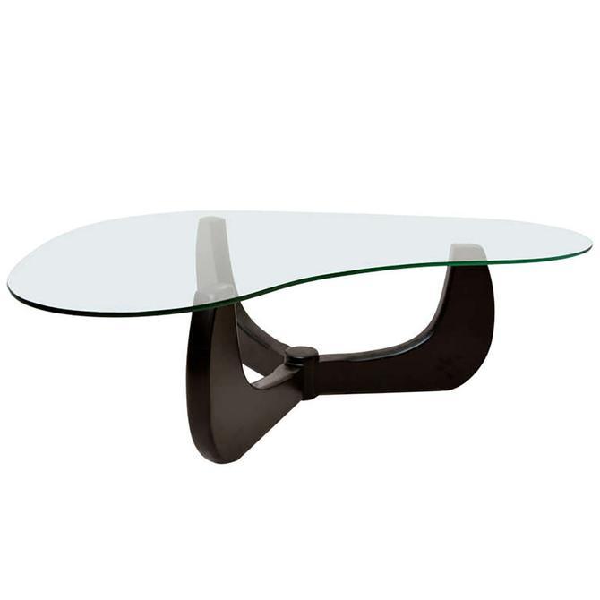 Mid Century Modern Original Coffee Table Base Three Arms Noguchi Style by AMBIANIC