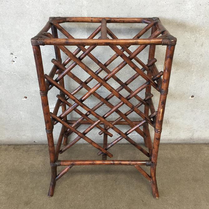 Vintage Bamboo Rack