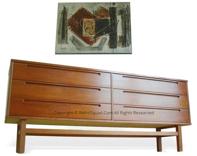 Teak Danish Modern Bedroom Dresser By Nils Jonsson For HJN Mobler, Mid Century Denmark Call / Teax Offers 571 330 0810 by RetroSquad