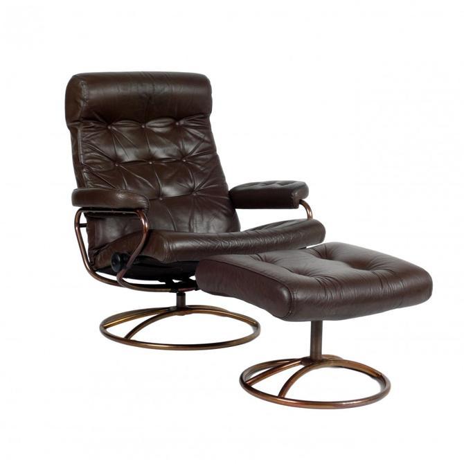 Ekornes Stressless Chair + Ottoman