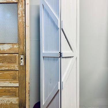 Custom Barn Door | Custom Bi-fold Door | Custom Closet Door | Interior Barn Door | Hinged Door | Custom Door | Farmhouse Style by PiccadillyPrairie