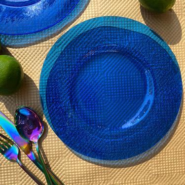 Blue Dessert Plate by MadeByRheal