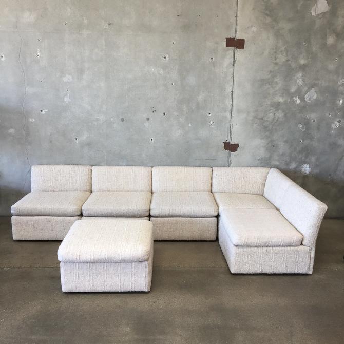 Vintage Scandiline Modular Sofa