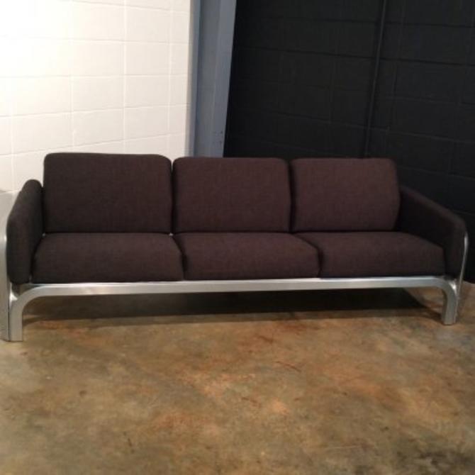 Rare Mid Century Modern New Angle Sofa by Jorn Utzon