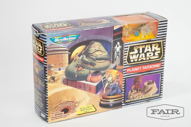 Star Wars MicroMachines Planet Tatooine