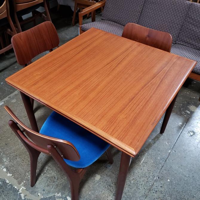 "34"" Square Teak Dining Table"