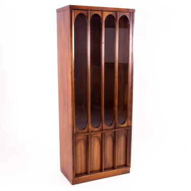 Kent Coffey Perspecta Style Brutalist Shelving Wall Unit Room Divider China Cabinet - mcm by ModernHill